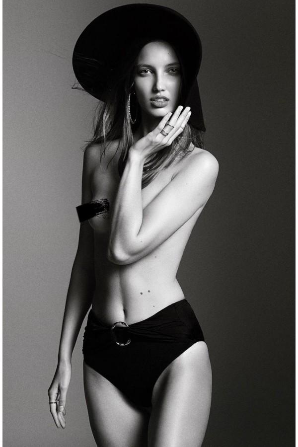 Hera Black O-Ring Sculpt Bikini Bottom