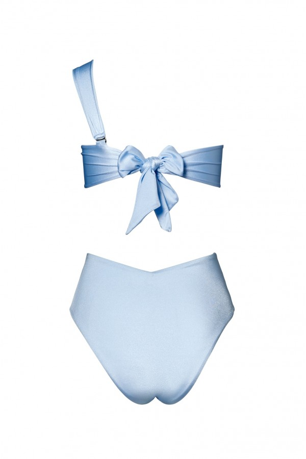 Hera Cipriani Blue Sculpt Bikini Bottom