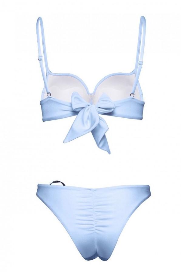 Luna Cipriani Blue Bikini Bottom